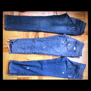 Lot of 3 pairs of denim